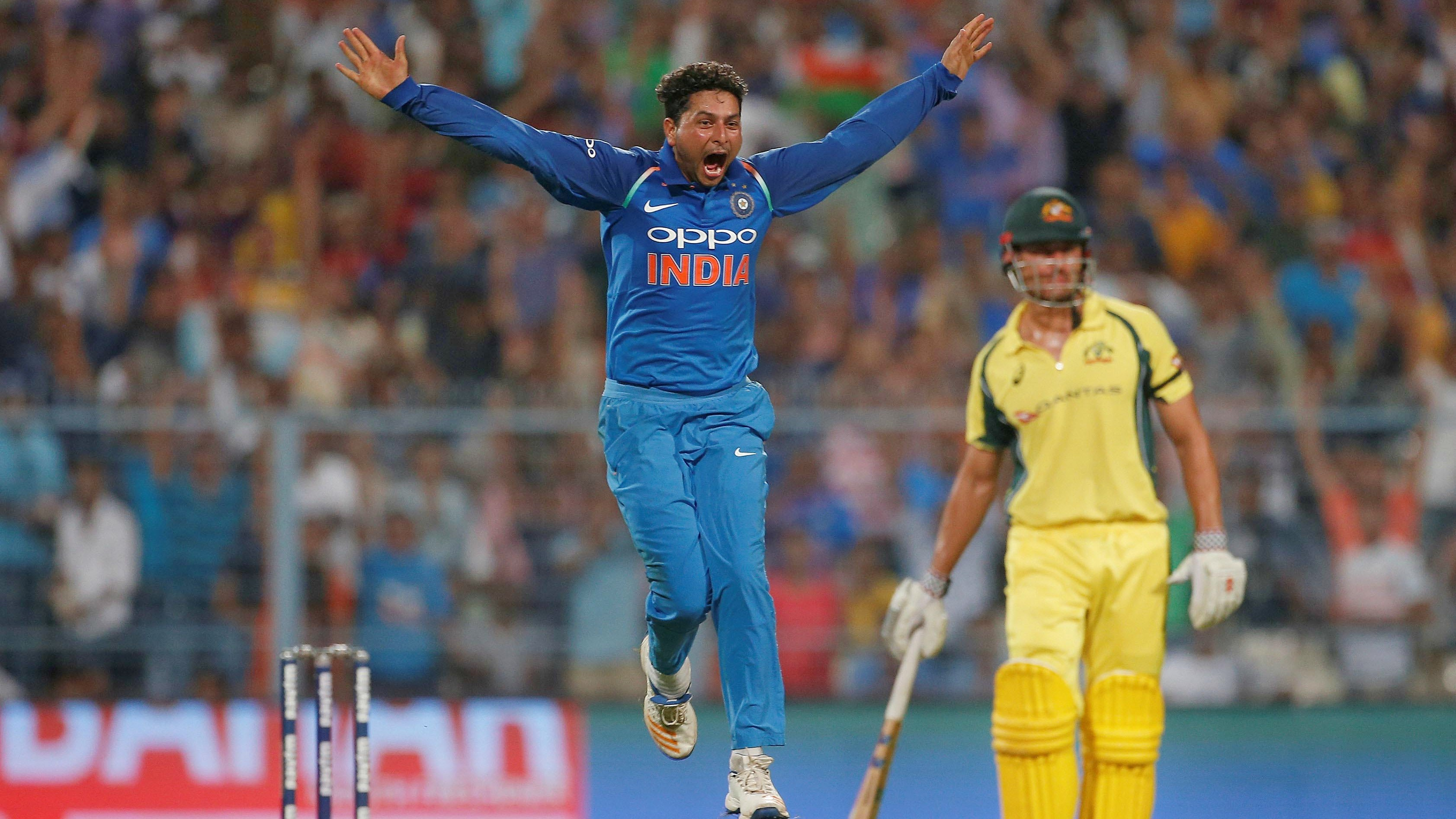 Hat trick cricket kuldeep yadav