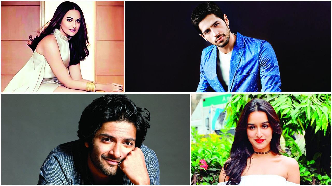 Pics: Sidharth Malhotra opts out of Taapsee Pannu starrer, Sonakshi Sinha proud to be a part of 'Kalank'