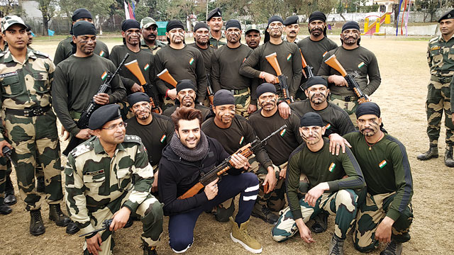 Maniesh Paul's day at the BSF camp