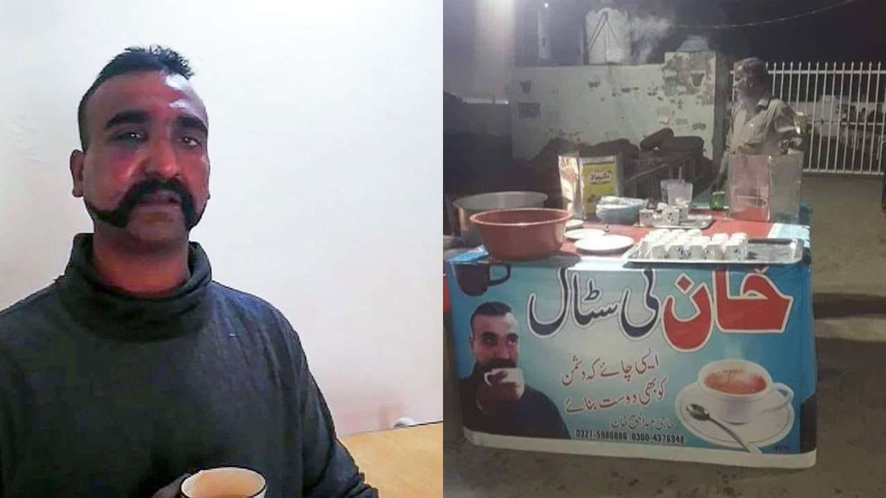 Pakistan tea seller uses Abhinandan's photo to sell 'friendship' tea, Twitter is all praise for his marketing skills