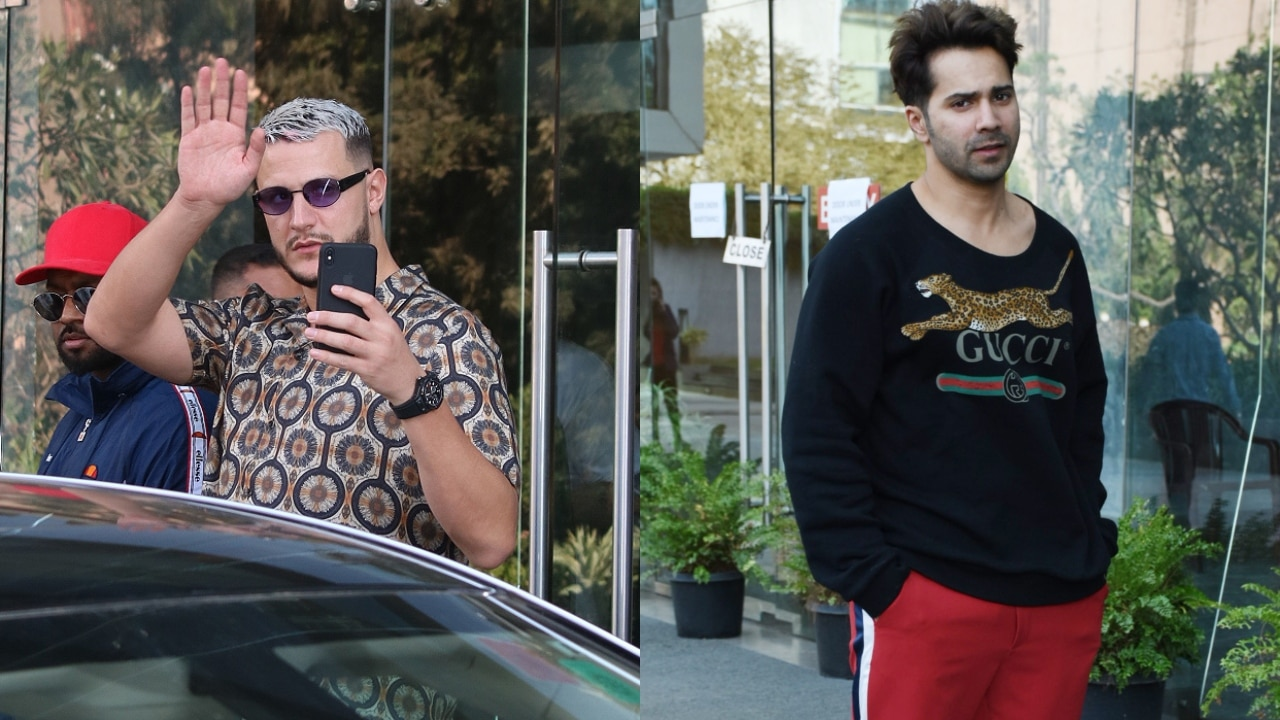 DJ Snake makes a splash in Mumbai's Dharma office, Varun Dhawan also spotted