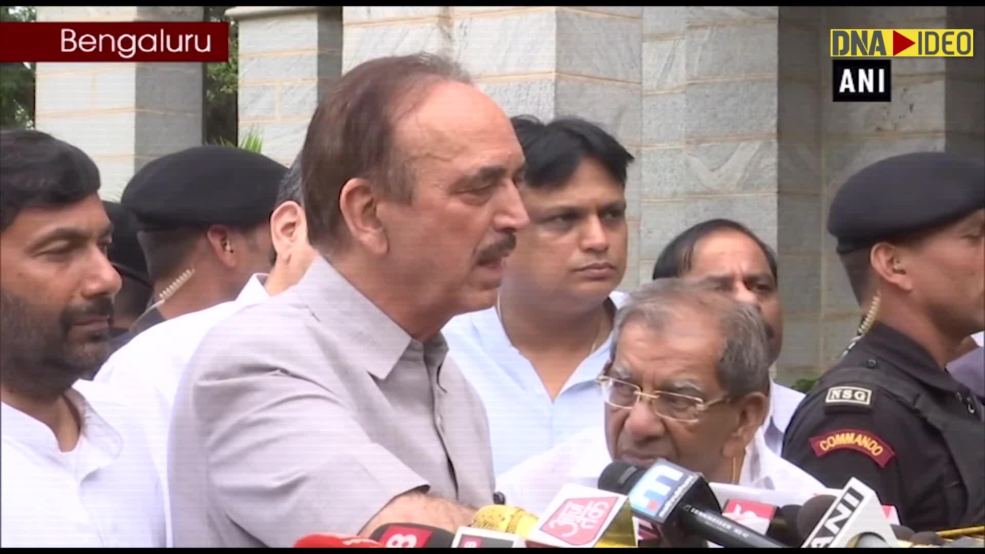 K'taka political crisis:  BJP came to power to finish democracy, says Ghulam Nabi Azad | Latest News & Updates at DNAIndia.com