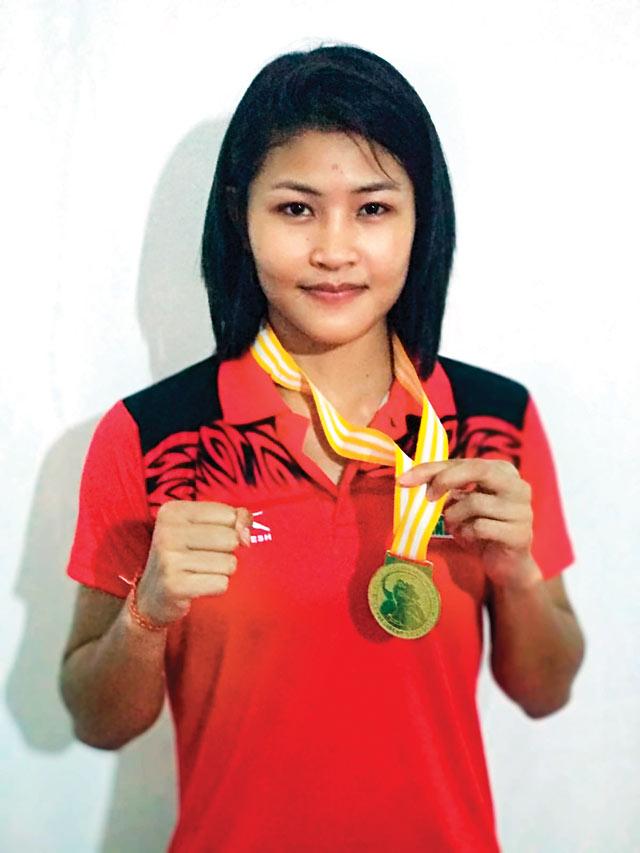 Jamuna Boro sets her sights on Worlds gold
