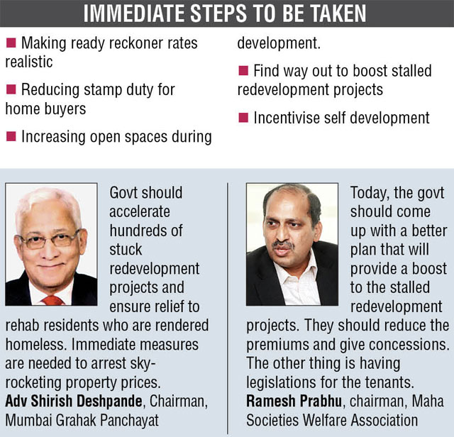 Mumbai ka Manifesto: 'Create infrastructure to cater to growing housing demand', says Expert