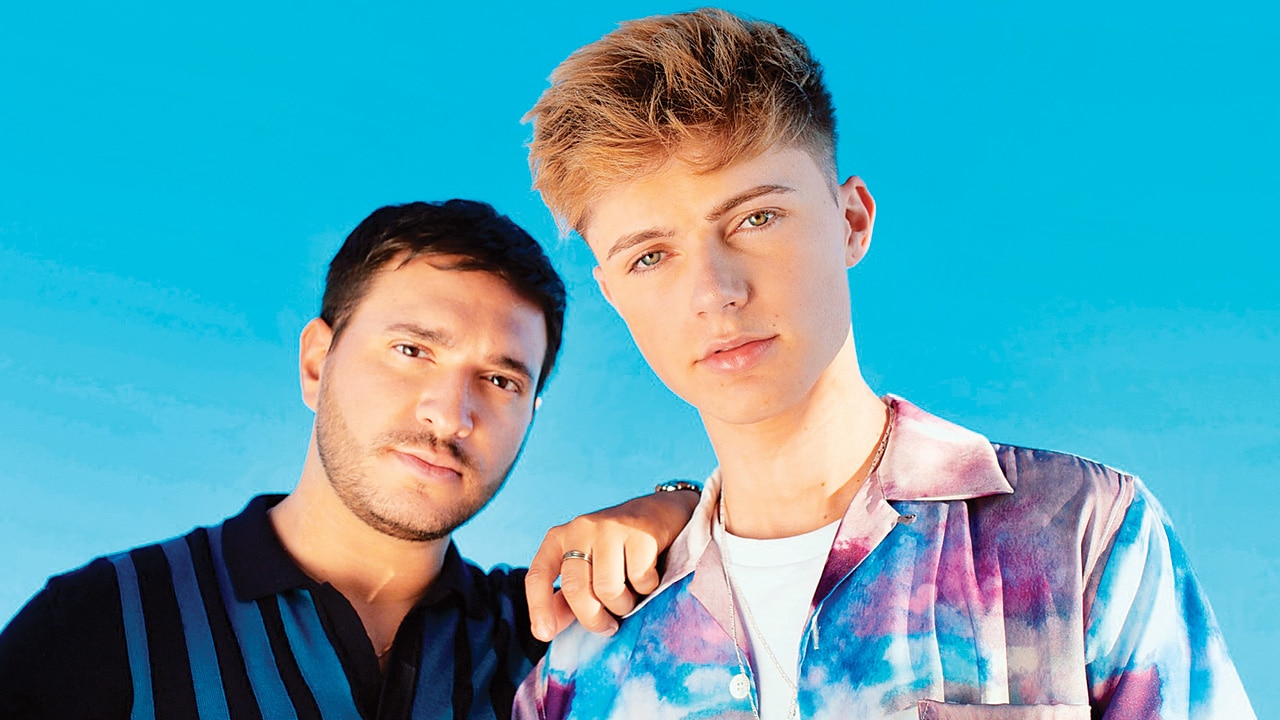 'I think about how we fit together musically': HRVY