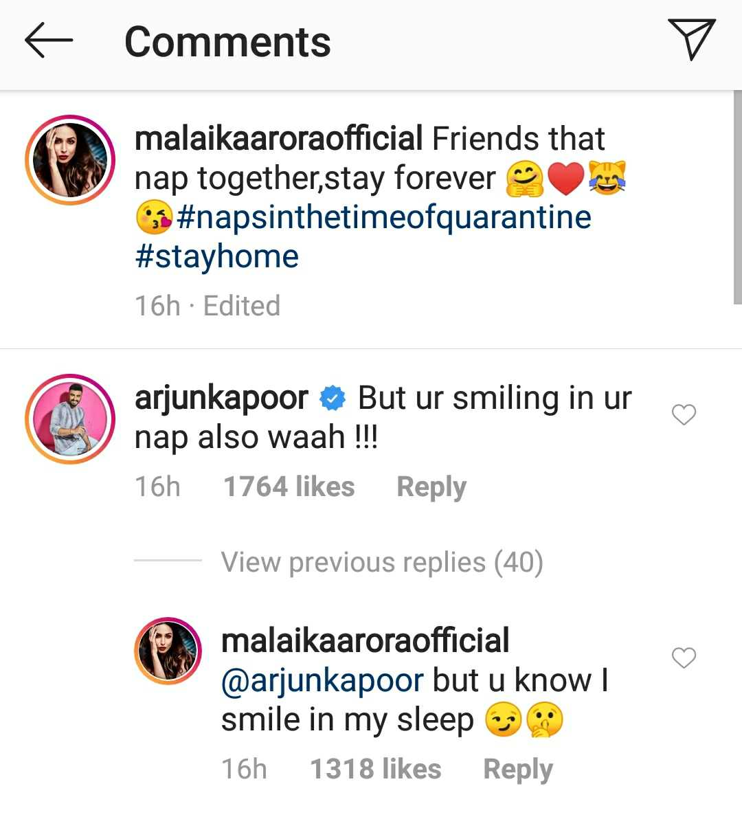 Image result for arjun kapoor tweet on  malaika nap picture