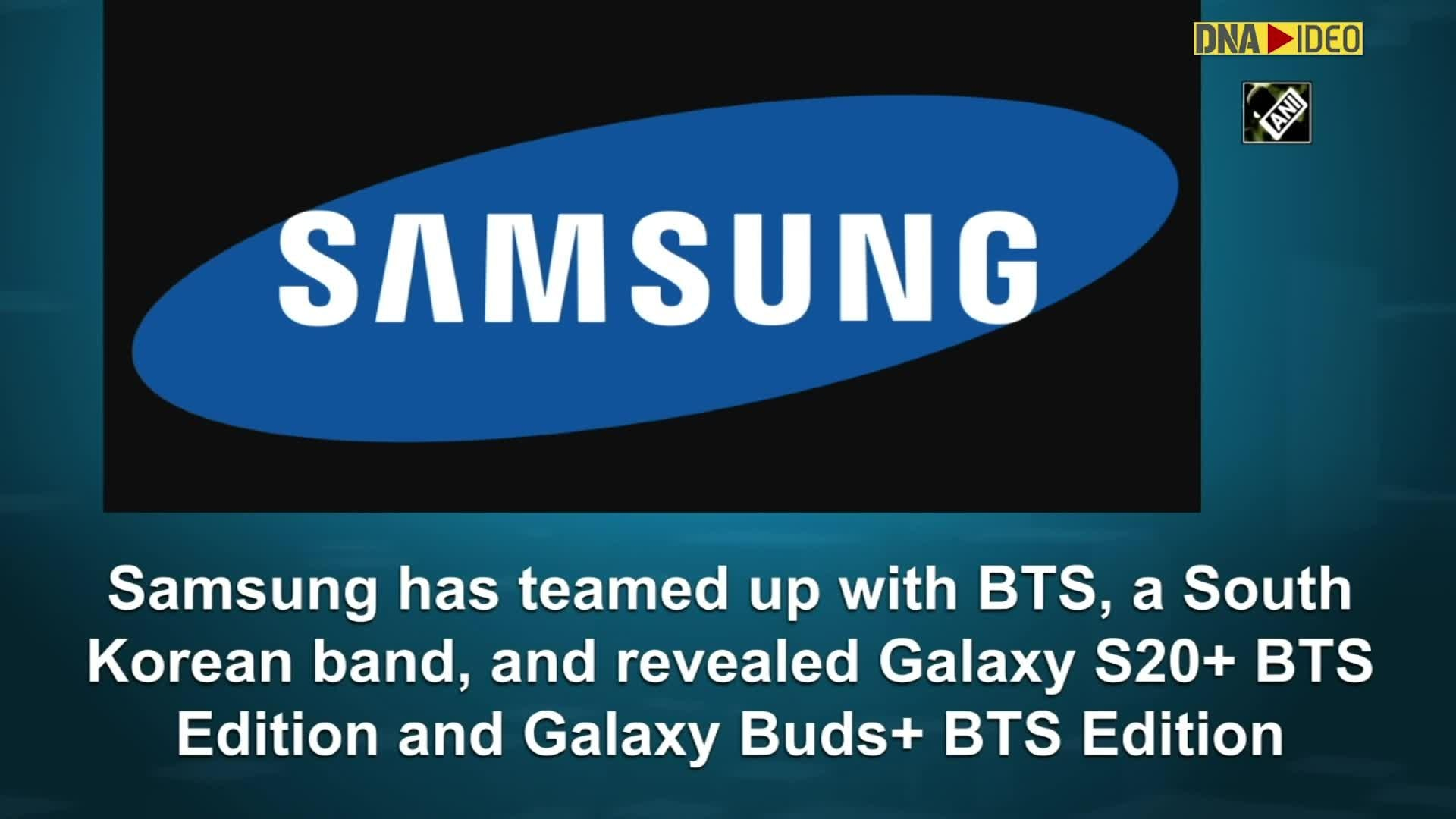 Samsung Teams Up With Bts Reveals Special Edition Galaxy S20 Galaxy Buds