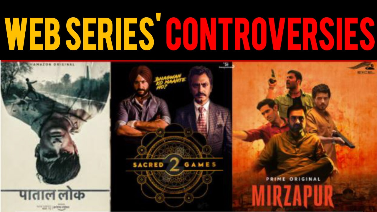 Look at web series that courted controversies | New OTT guidelines