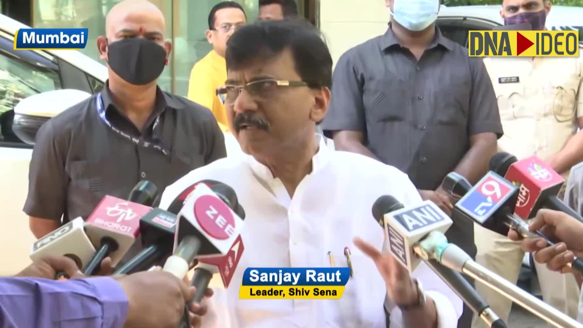 People involved in extortion, lodge fake cases on Deshbhakti pretext: Sanjay Raut on drug case