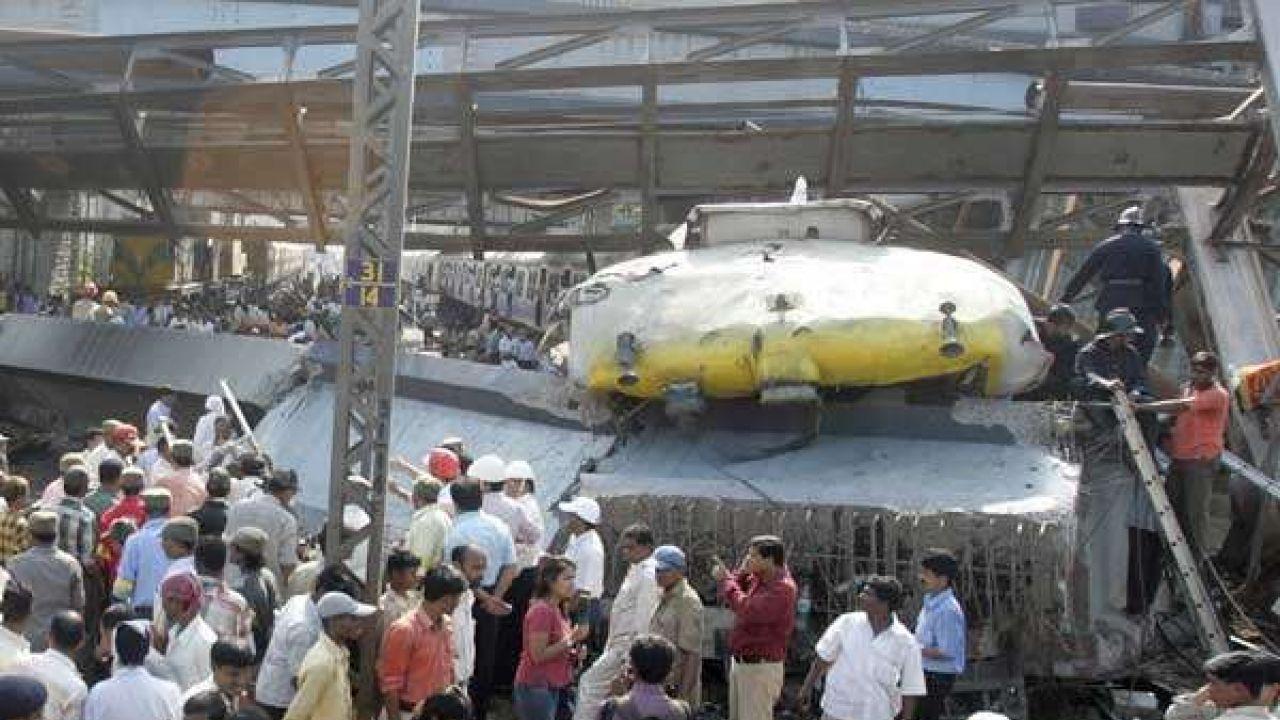 Thane train accident