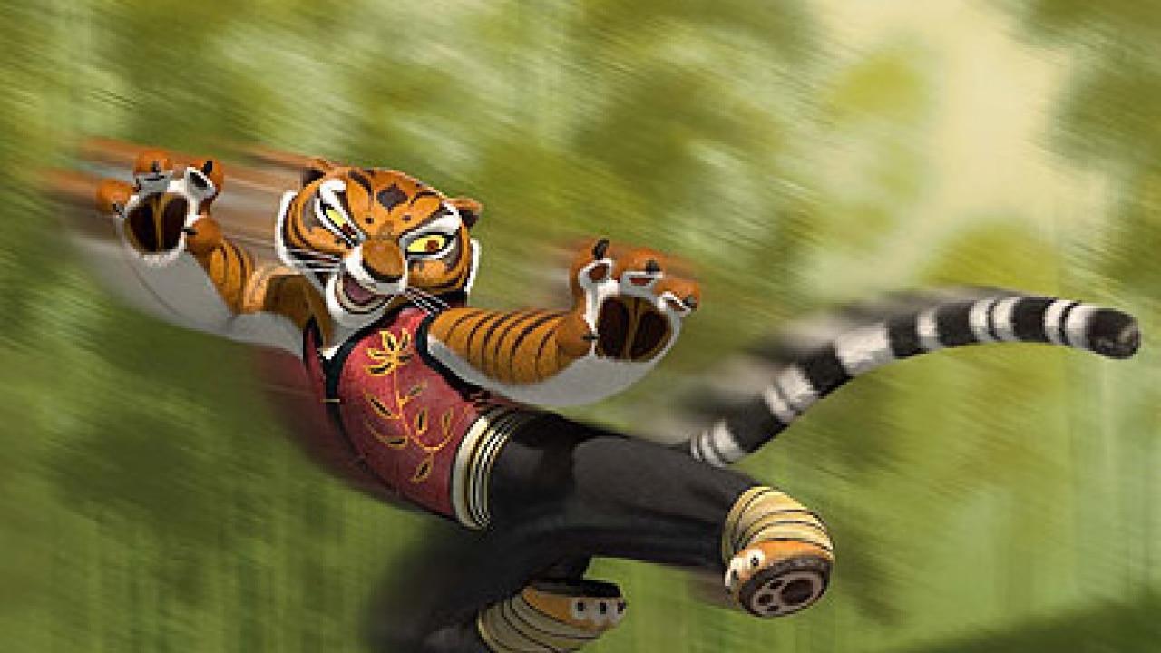 Angelina Jolie Enjoyed Playing Repressed Tigress In Kung Fu Panda 2