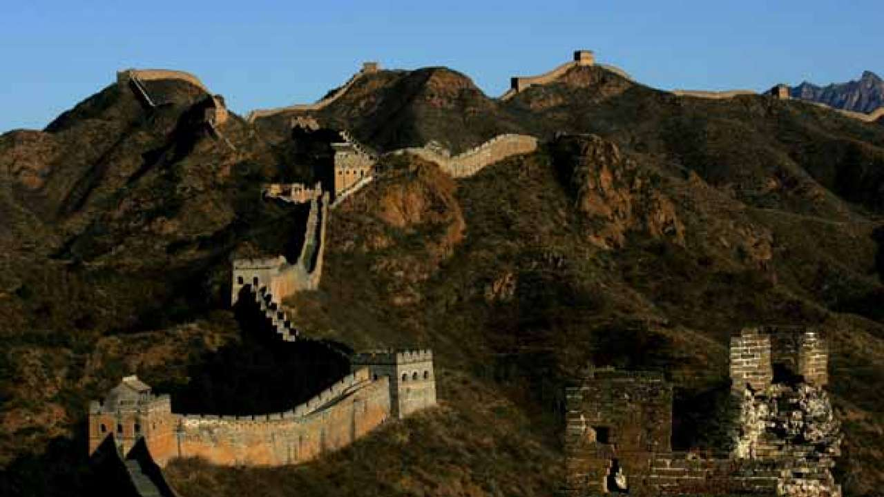 Image result for Great Wall of China with 10 best parts-china