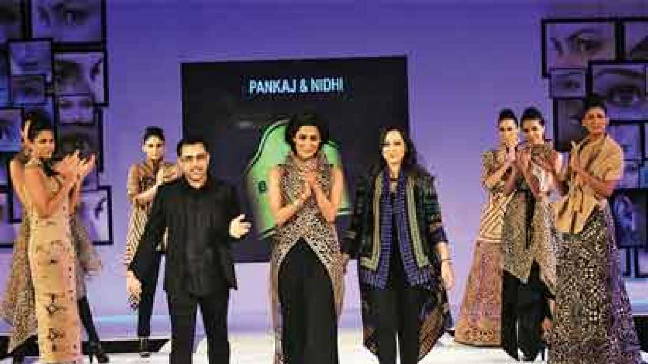 Our Time Now Say Designers Pankaj Nidhi Ahuja
