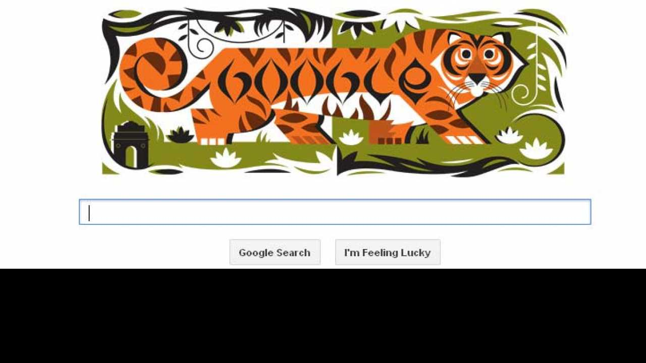 Republic Day Google Doodles National Symbol Of India