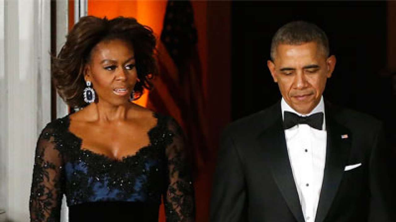 Obama marriage troubles