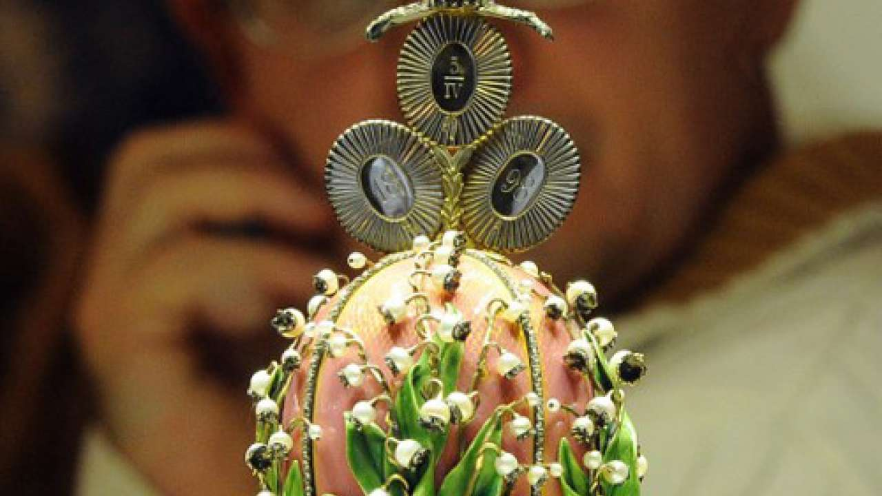 £20 million Faberge egg was almost sold for scrap