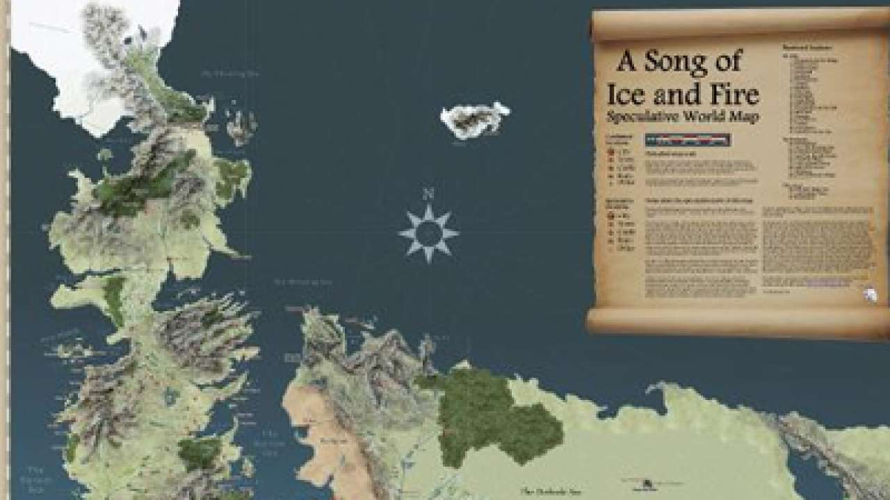 Map Of The Seven Kingdoms Westeros on