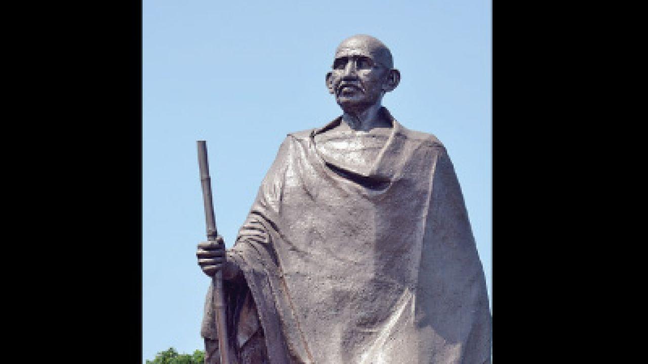 Ace Thane Sculptor S Mahatma Gandhi Statue Ready For Dandi