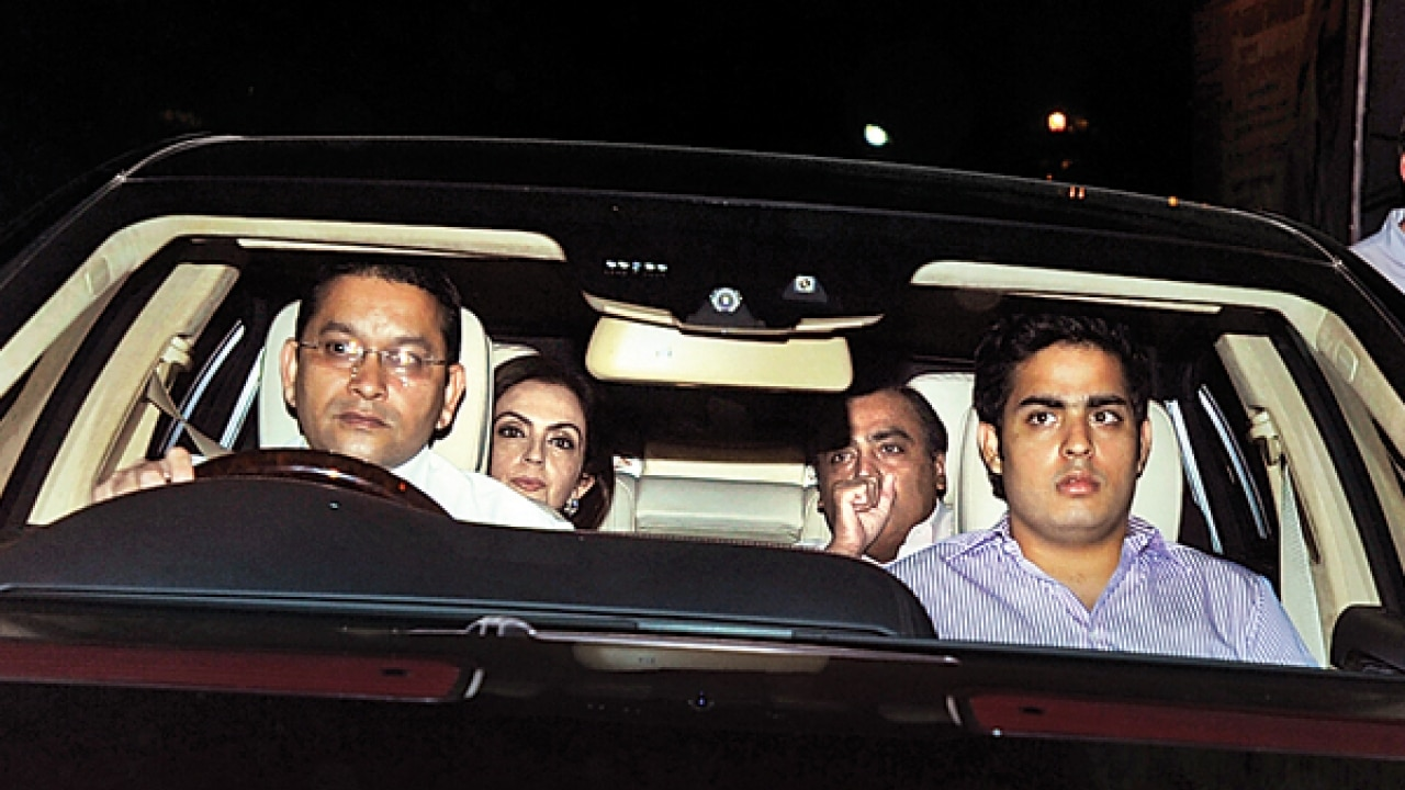 Mukesh Ambani Gets A Bmw Armoured Car