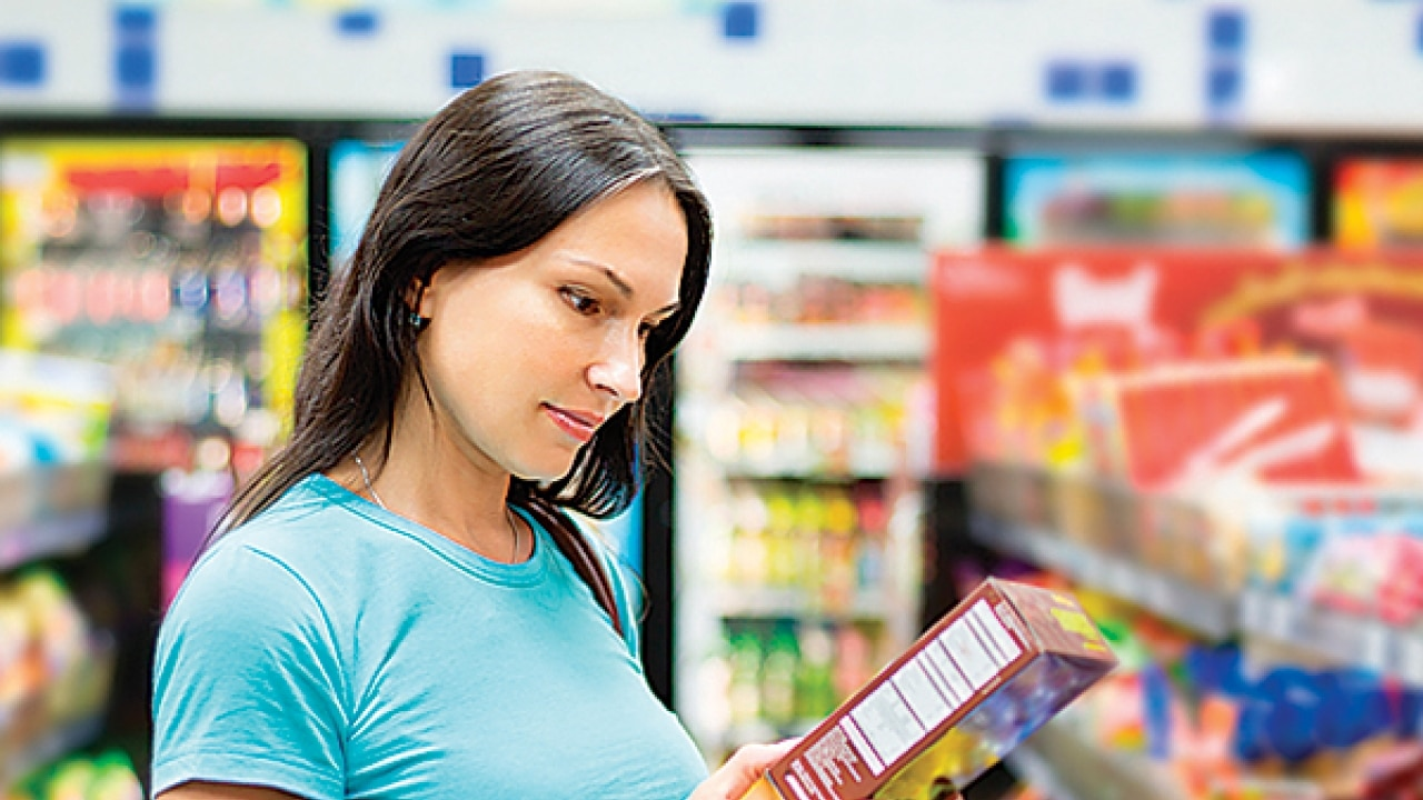 reading food labels for toxic elements