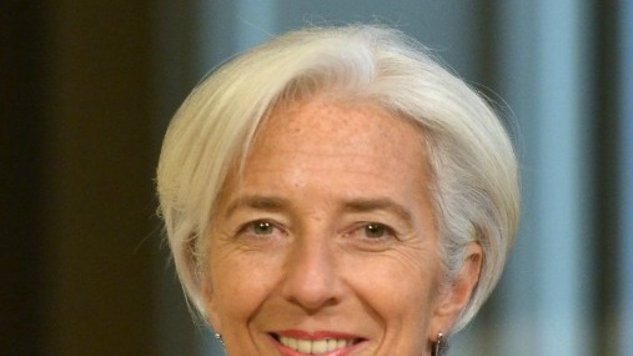 IMF's Lagarde hopeful on debt restructure for Greece from EU