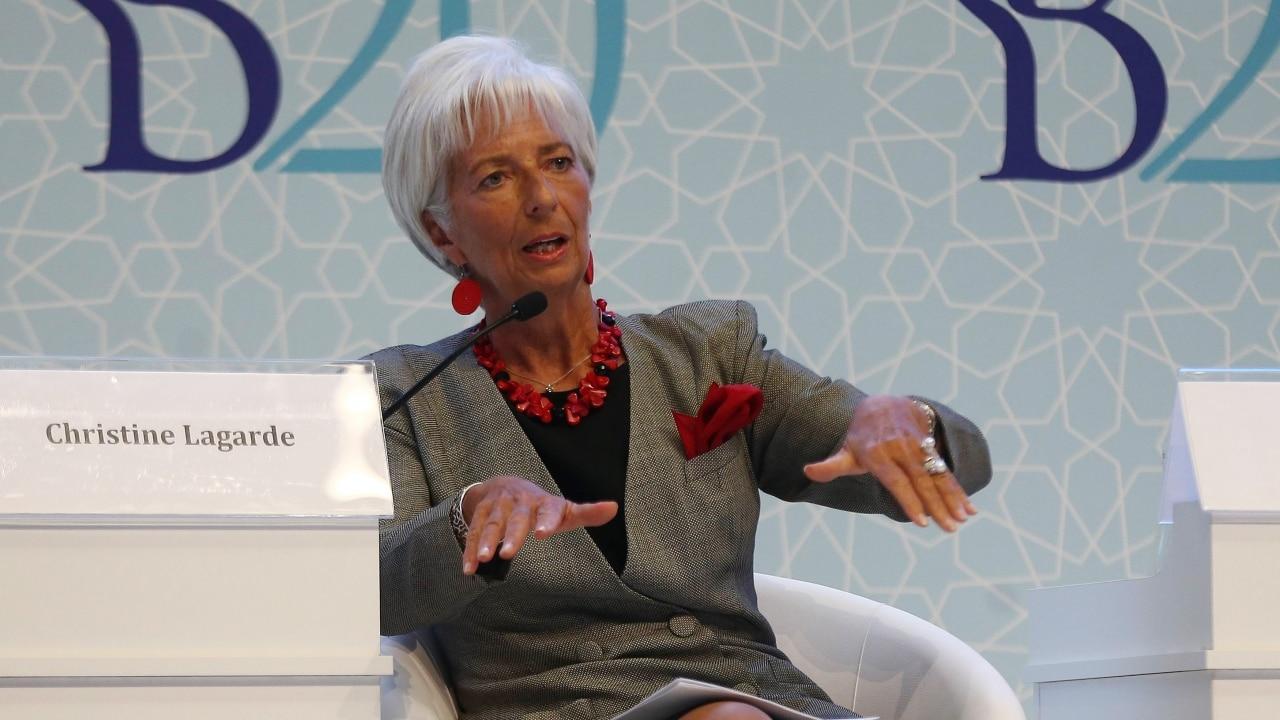 IMF Chief Christine Lagarde hails Indias economy | Latest