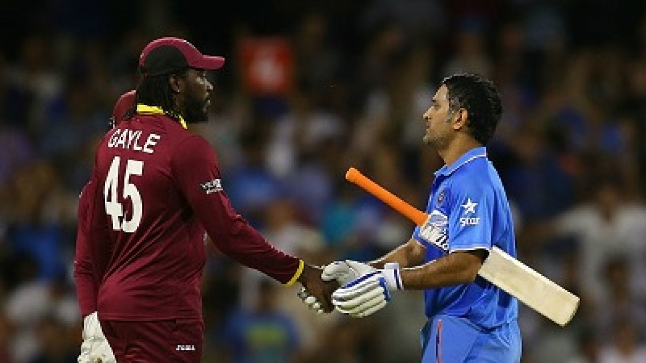 Chris Gayle praises 'legend' Dhoni for his contribution to Indian cricket