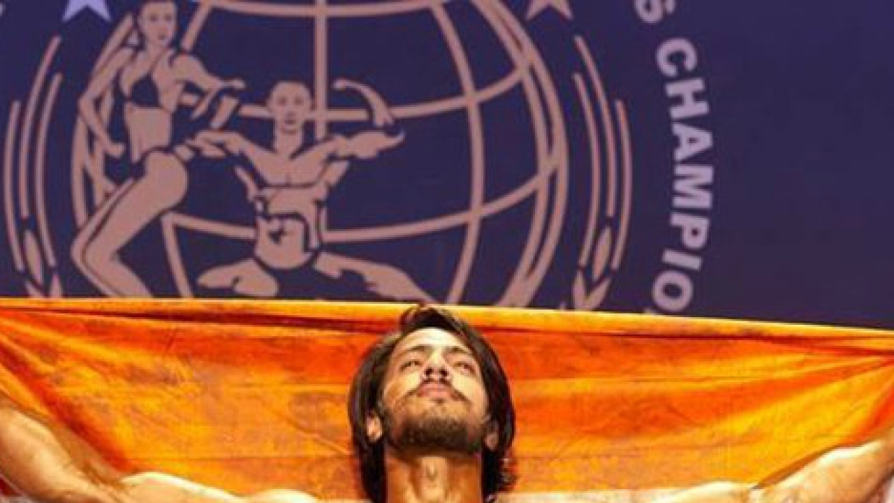 India's Thakur Anoop Singh becomes Mr. World