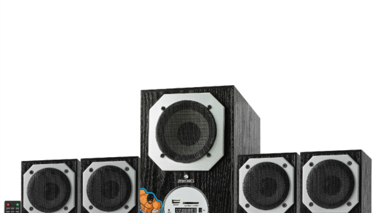 Zebronics Introduces Made In India 4 1 Speaker