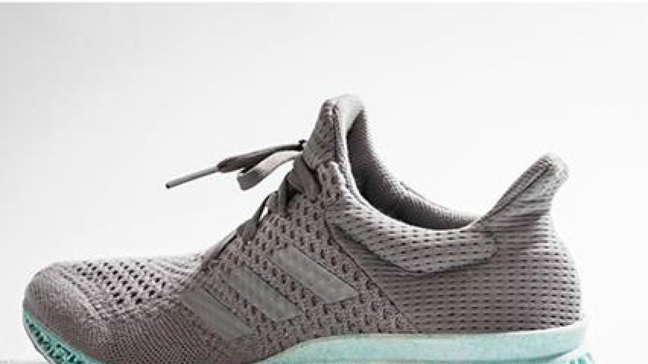 uhr: wie adidas 3d - gedruckte schuh aus plastik aus dem meer