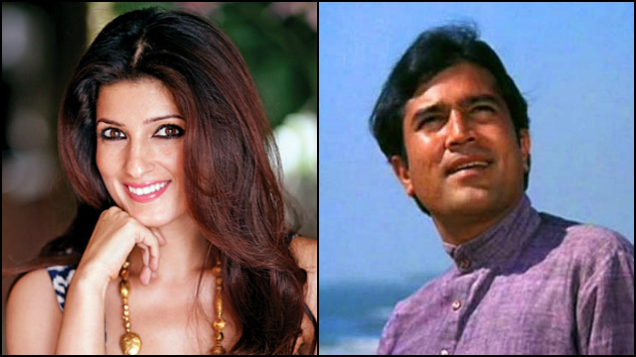 This Twinkle Khanna baby pic with her dad Rajesh Khanna ...
