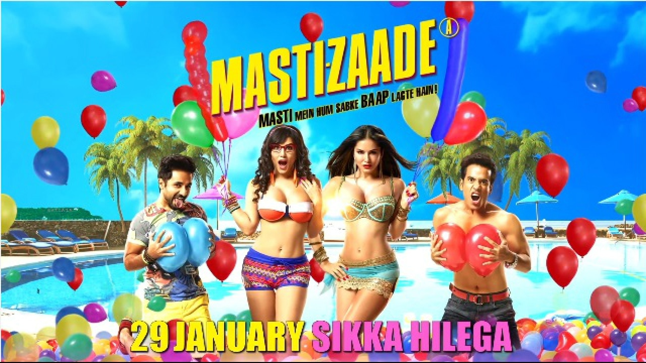 Mastizaade Review A Feast For Sunny Leone Fans This One Is