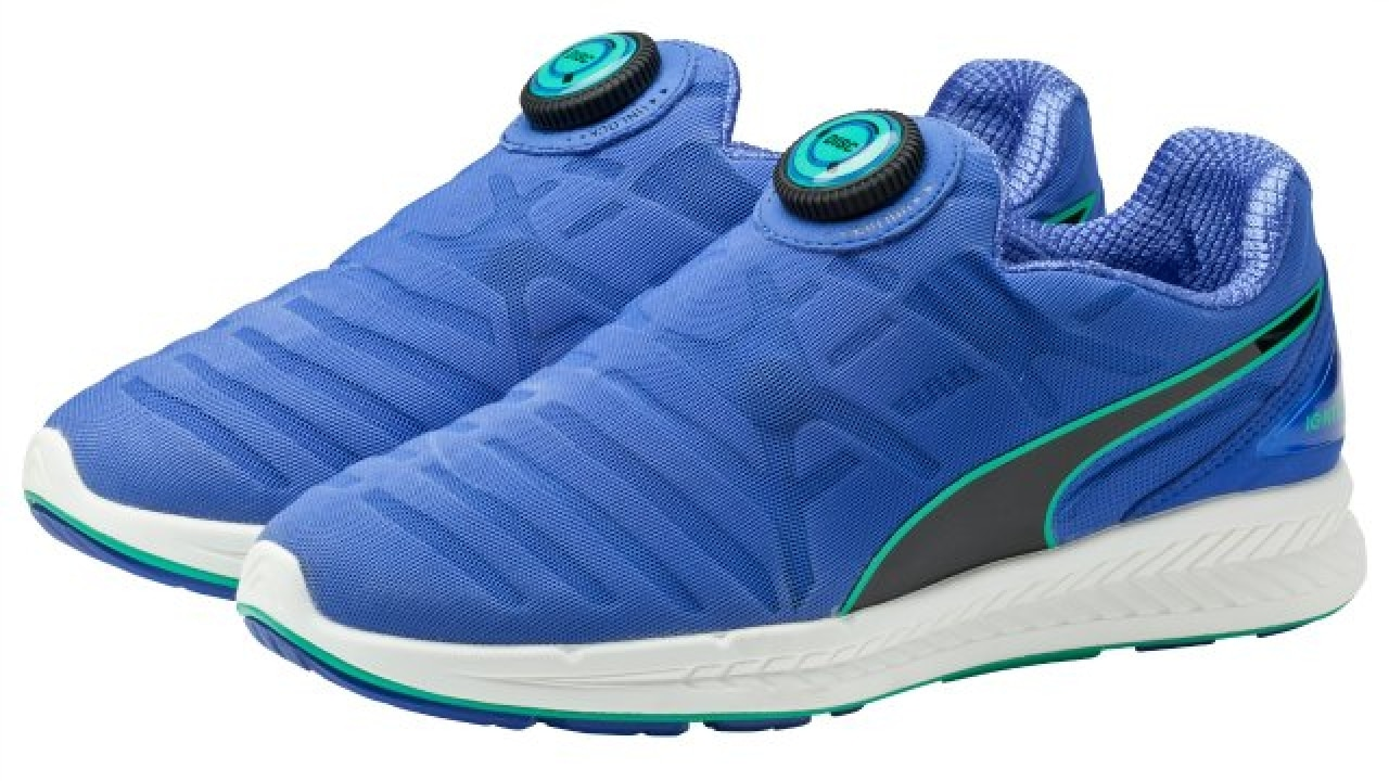 938e4b1fe069 Puma revives the Disc in new laceless Ignite running shoe