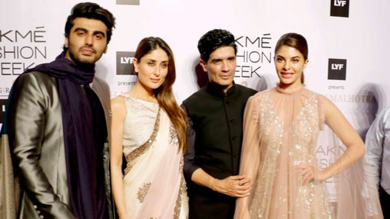 Lakme Fashion Week Manish Malhotra Kickstarts Show With Elements Of Glamour Opulence