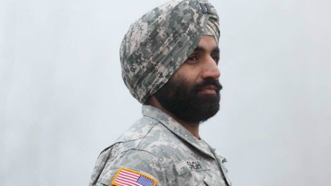long hair in the military