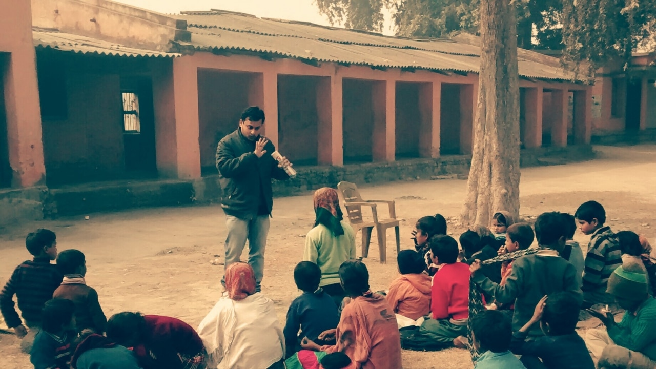 Here S How One Man Wants To Enrich The Lives Of Kids In A Bihar