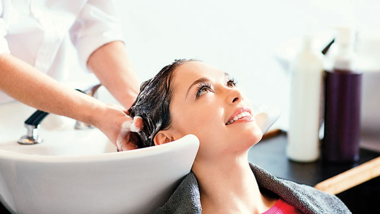 When hair washes at salons become a pain in the neck