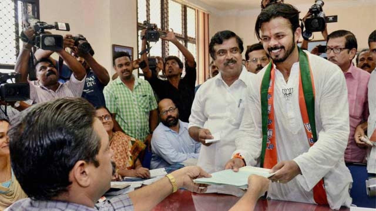 Sreesanth Gallery: Kerala Assembly Polls 2016: Cricketer Sreesanth Declares