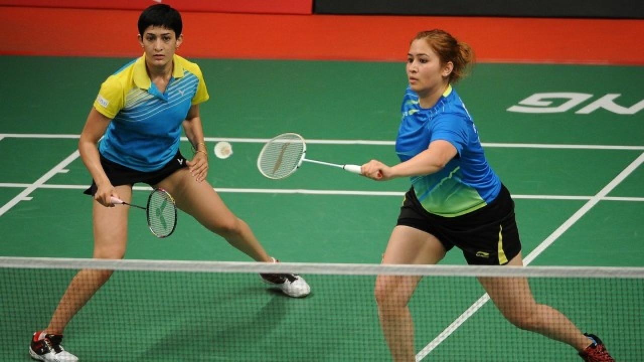 Ashwini Ponnappa and Jwala Gutta (Source: Getty)