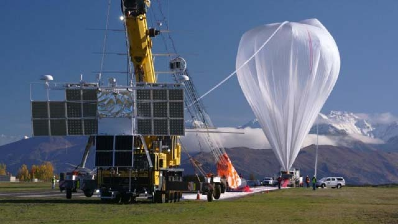NASA Launches Super-Pressure Balloon