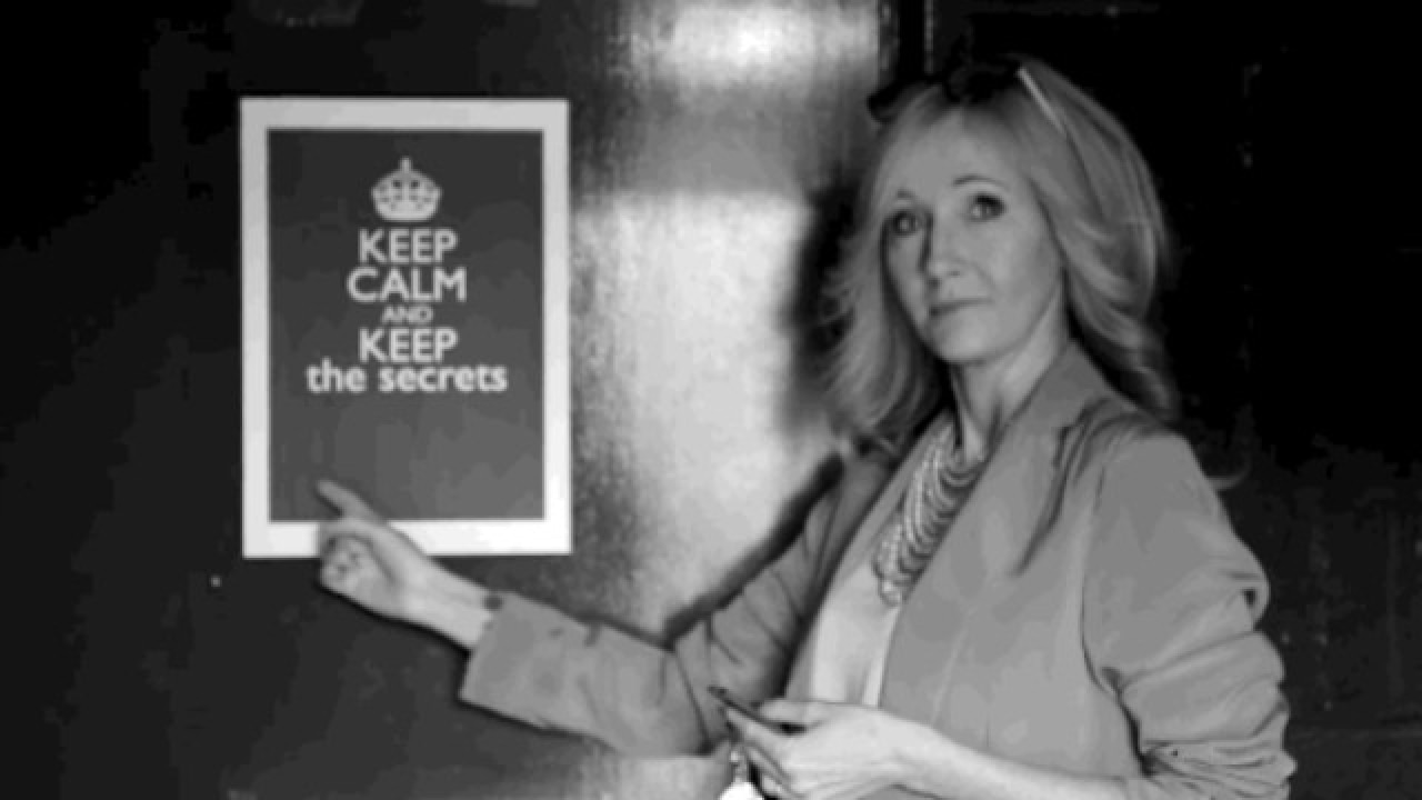 Watch Jk Rowling Has A Very Special Message For Fans Who Watch