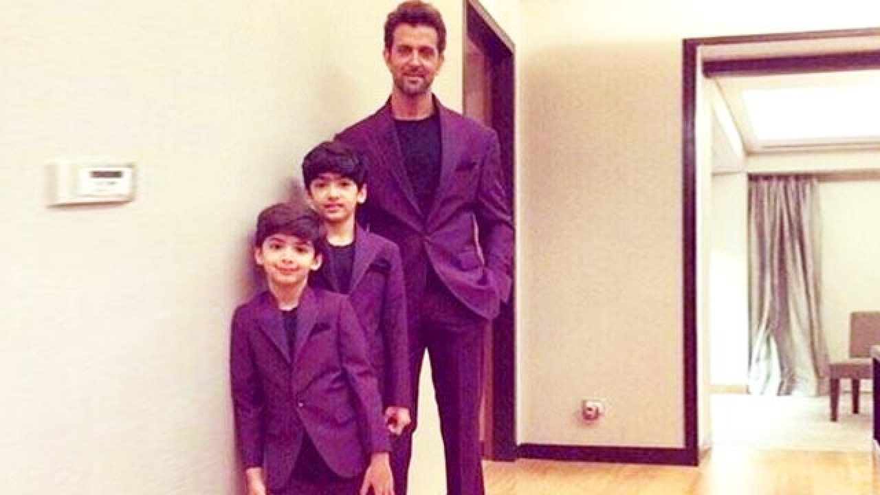 Hrithik Roshan vacations with children in Africa!