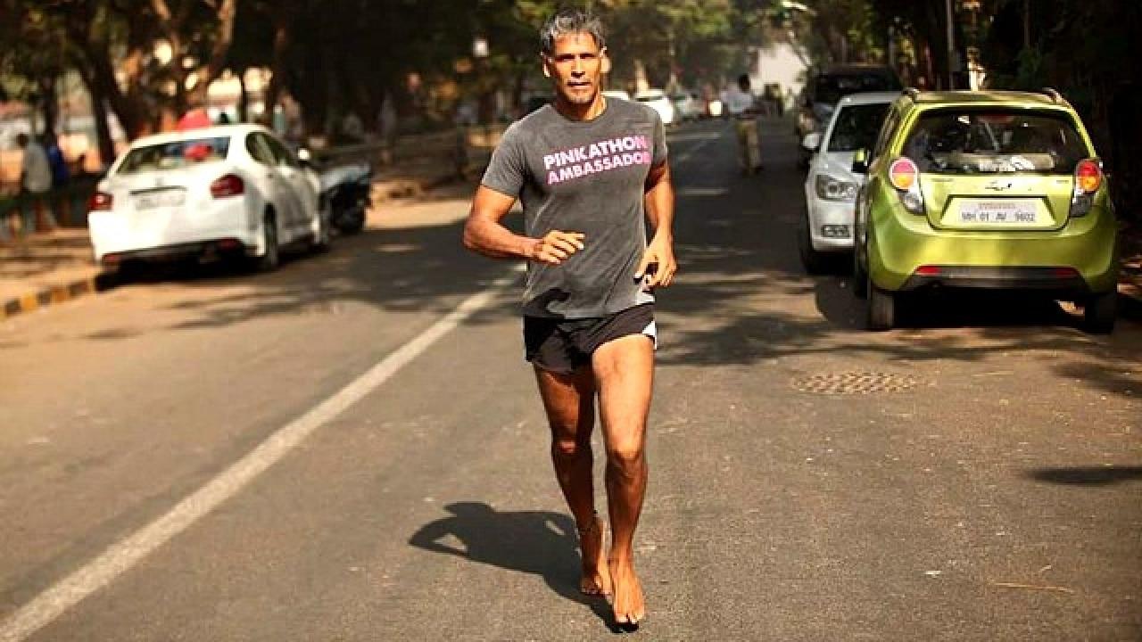 Im Running 100 Marathons Barefoot Across Britain And This