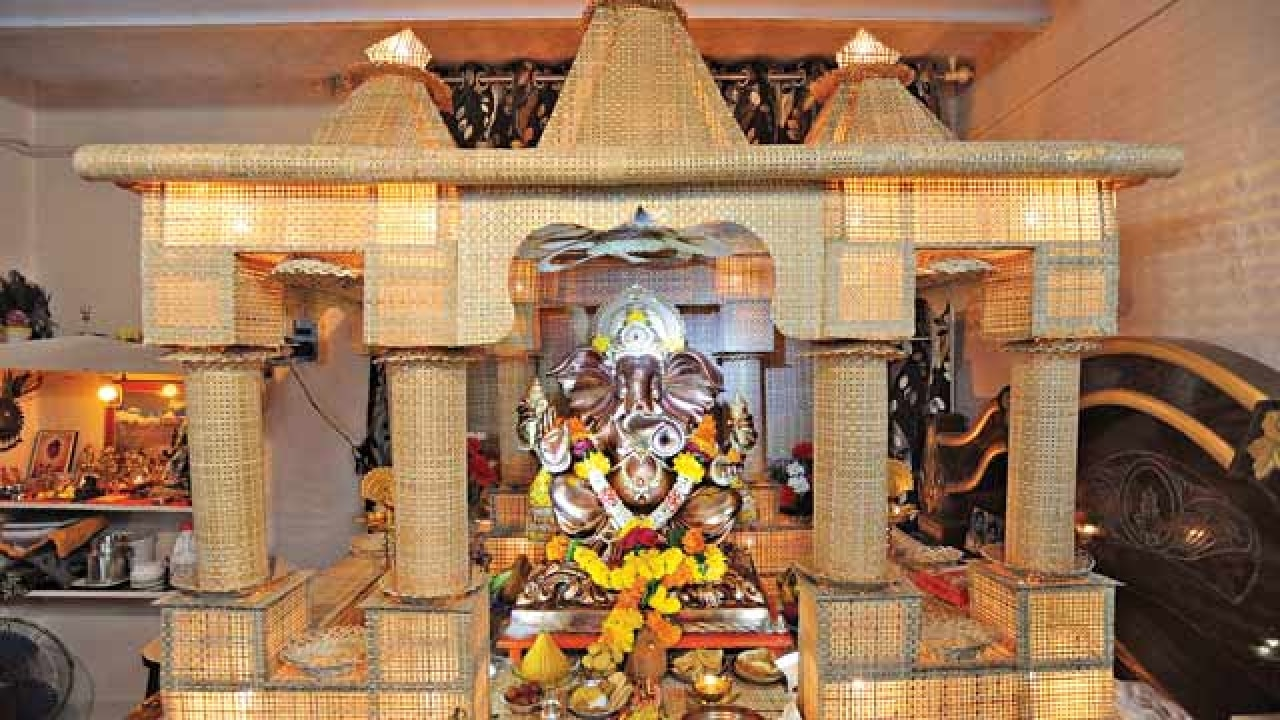 Flutes Playtops Chataai For Ganpati Decoration In Thane