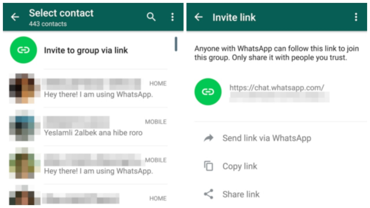 Group chat app google play