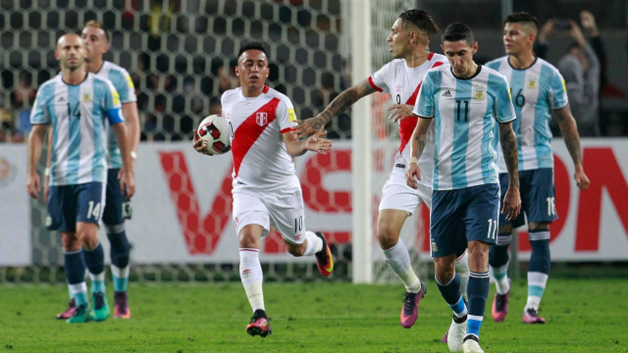 739a2c773 World Cup 2018 qualifiers  Messi-less Argentina drop two more points ...