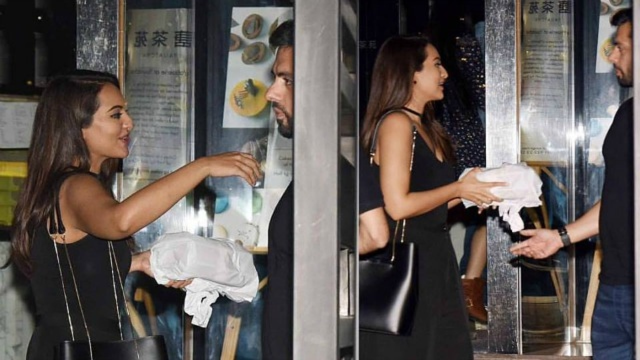 see picture was sonakshi sinha on a date night with rumoured beau