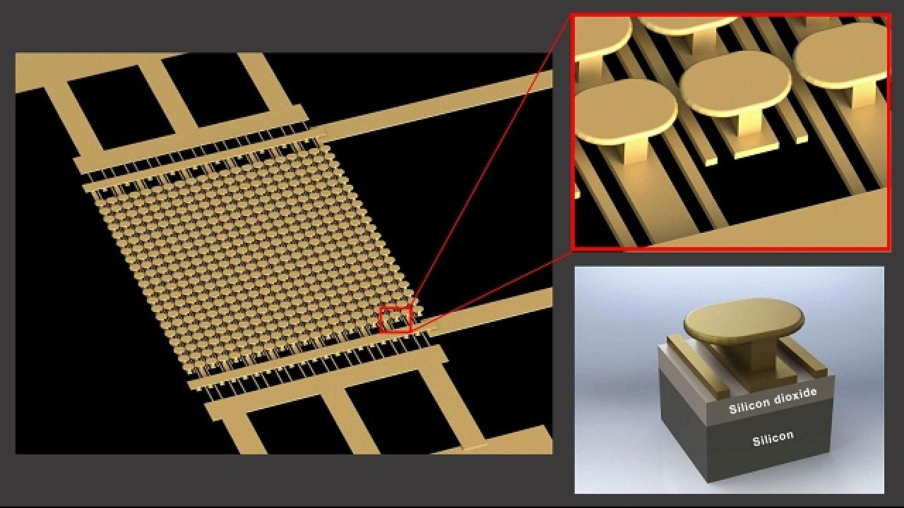 Semiconductor-free microelectronic device allows high power