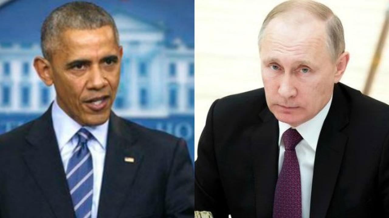 Barack Obama Points Finger At Vladimir Putin For Hacks During Us Election