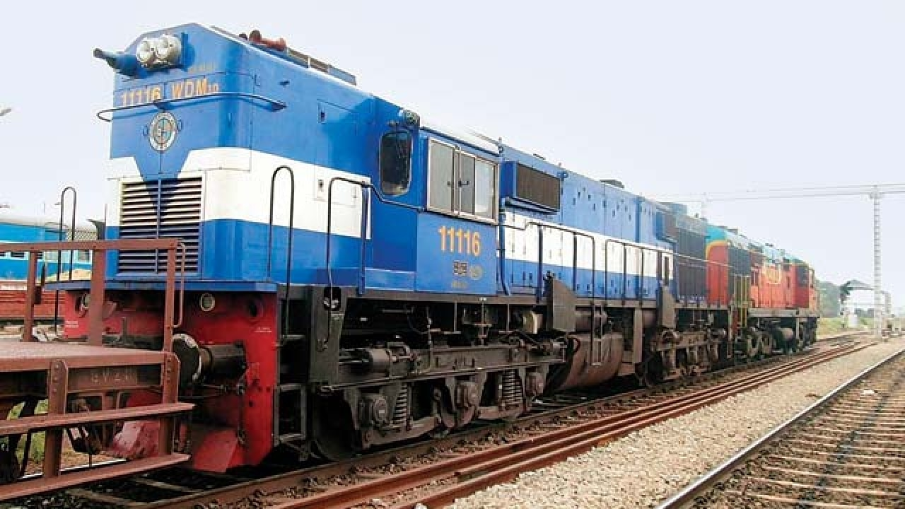railways to run passenger trains on lng cut diesel costs by 20 rh dnaindia com Diesel Locomotives Inside Cab Diesel Locomotives Inside Cab